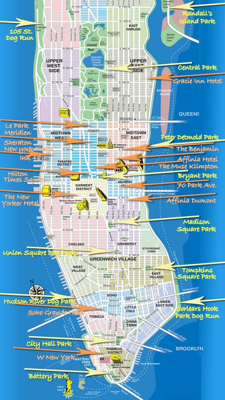 pet friendly new york map